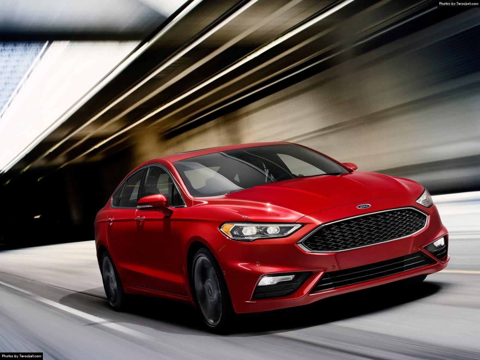 Đánh giá xe Ford Fusion V6 Sport 2017 & giá xe