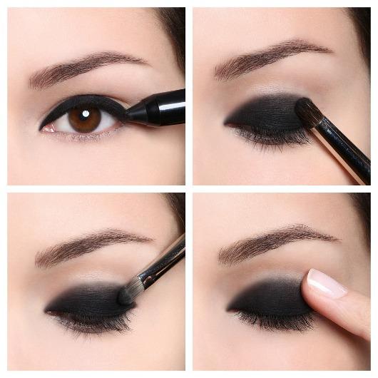 Tutorial smokey eyes con aqua shadows de mufe beauty for Como maquillar ojos ahumados paso a paso