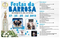 Barrosa(Benavente)- Festas em Hª de Nª Srª de Fátima 2018