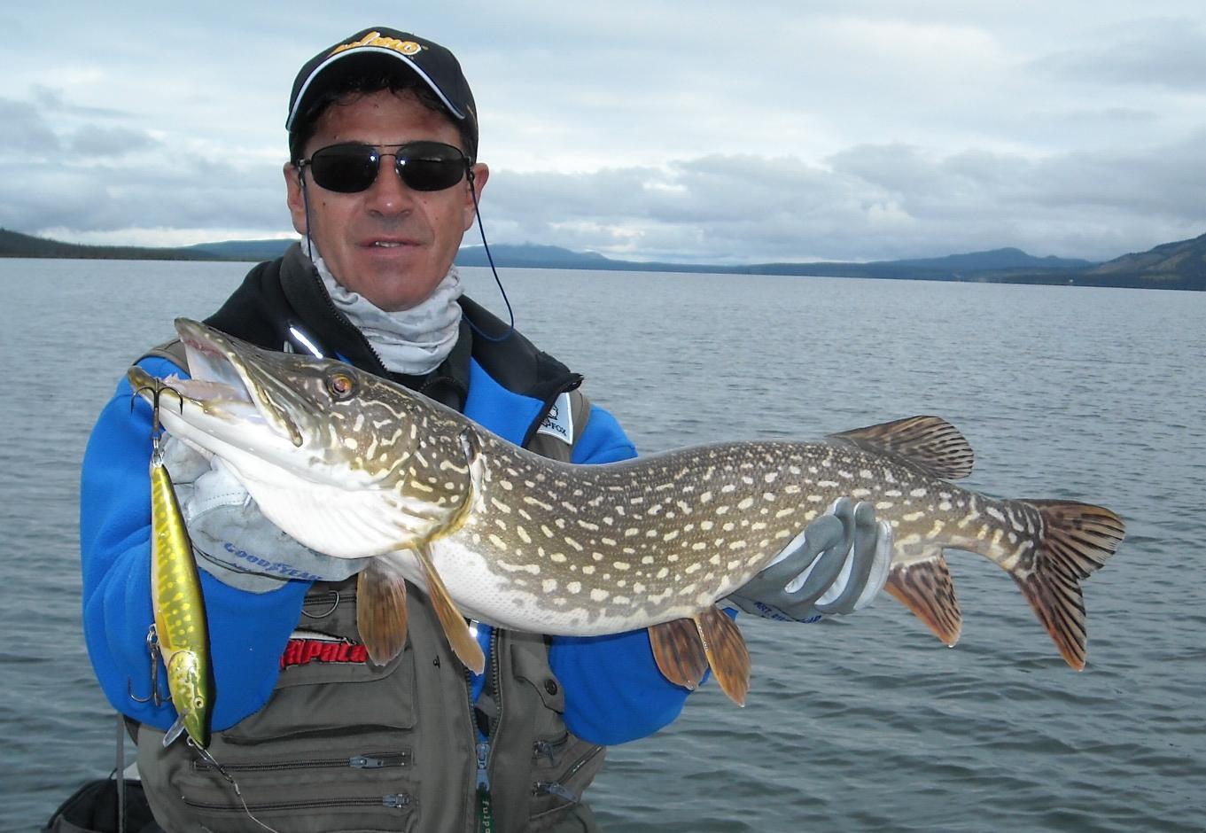 Pesca intorno al mondo canada 2011 for Grosso pesce di lago