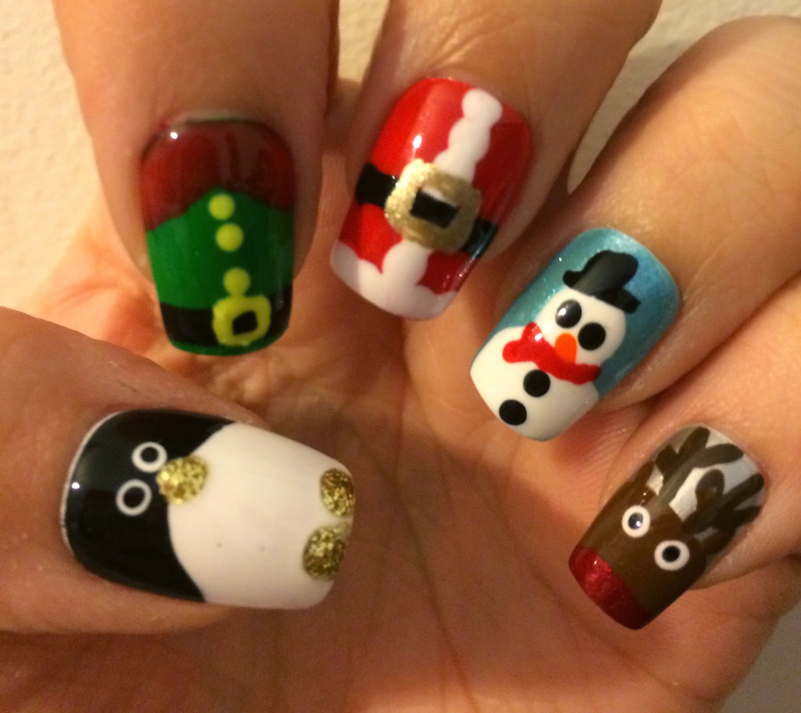 Born Pretty Store Christmas Nail Art