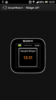 Sample Widget