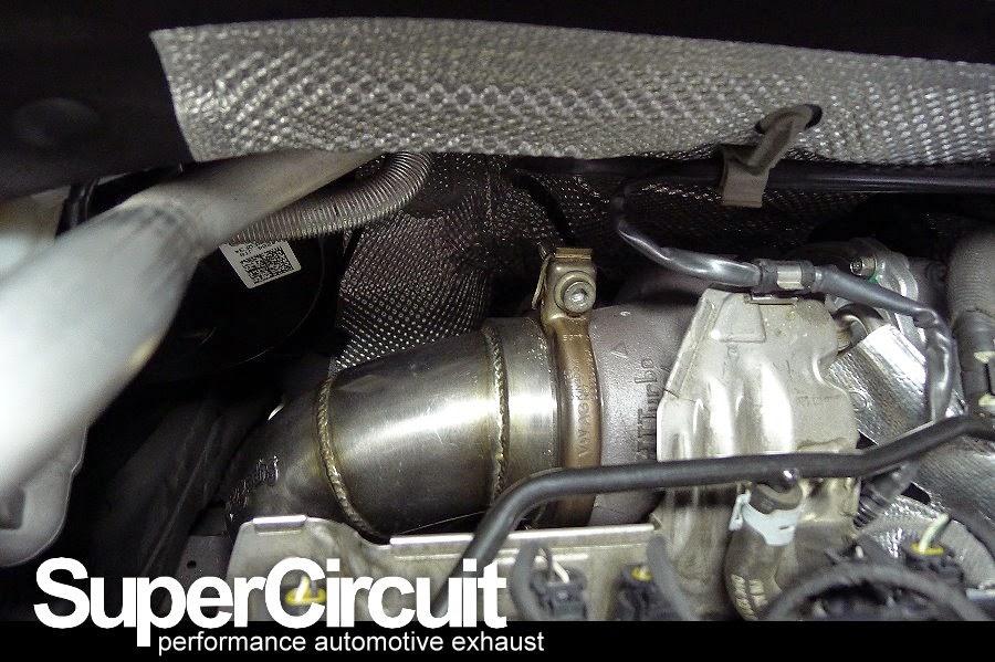 supercircuit exhaust pro shop vw golf 7 gti downpipe. Black Bedroom Furniture Sets. Home Design Ideas