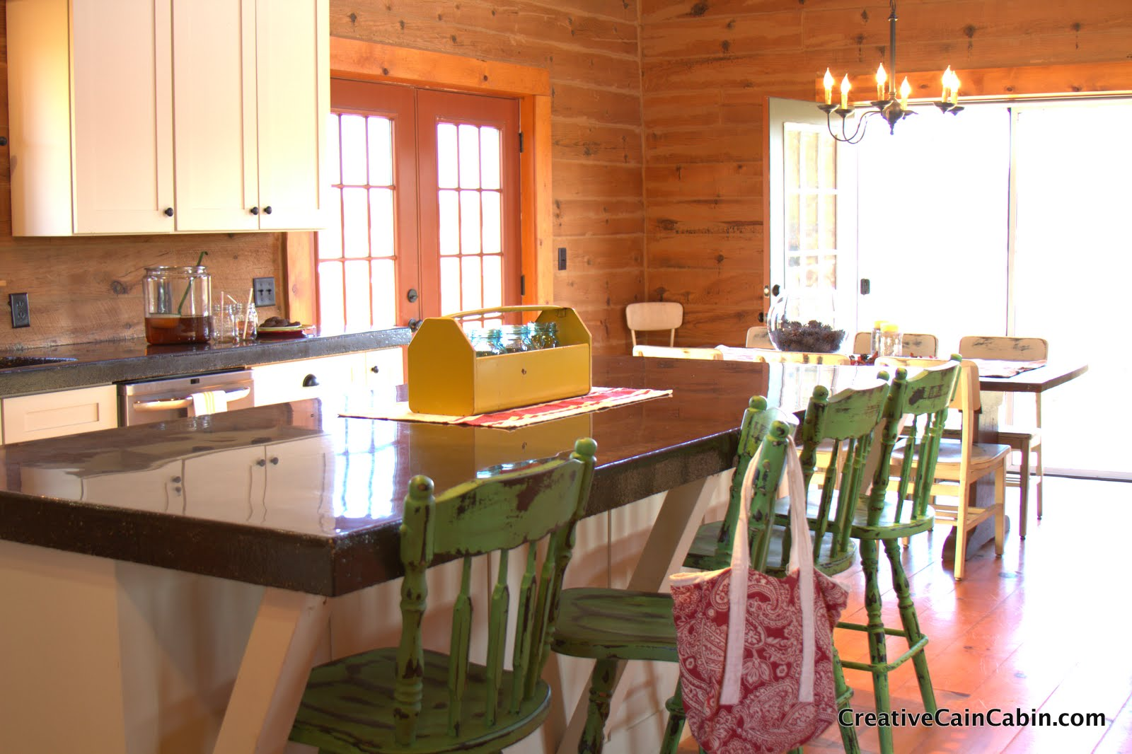 Log Cabin Kitchens Counters