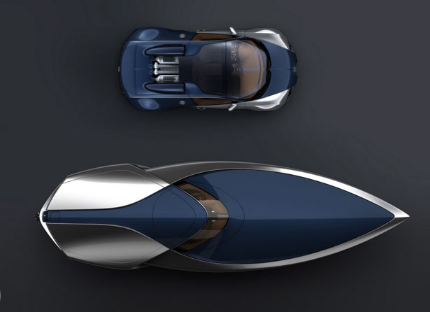 Stylish and Elegant Bugatti Veyron Sang Bleu Yacht Concept Seen On www.coolpicturegallery.us