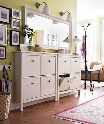 Knesting ikea inspiration ikea hemnes cabinet great for Ikea entry cabinet
