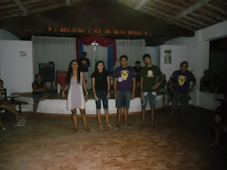 Realizado Retiro Espiritual no Distrito de Acaraú em Bela Cruz/CE