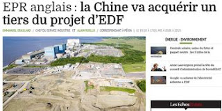 EPR Aglais, la Chine finance