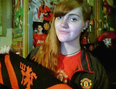 Dorota from Poland is fan of Manchester United since she was 6 years old