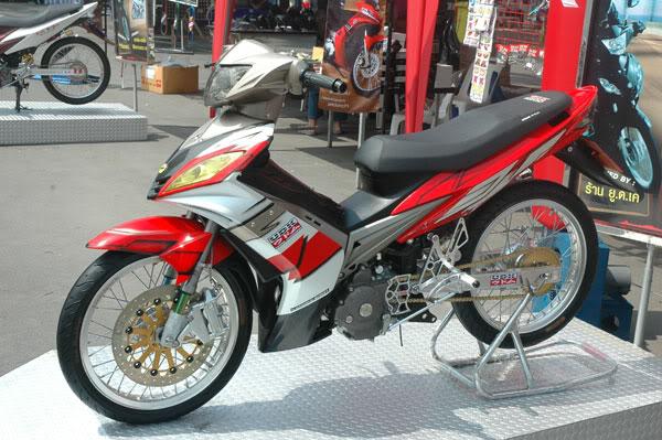 Modification Yamaha Lc135