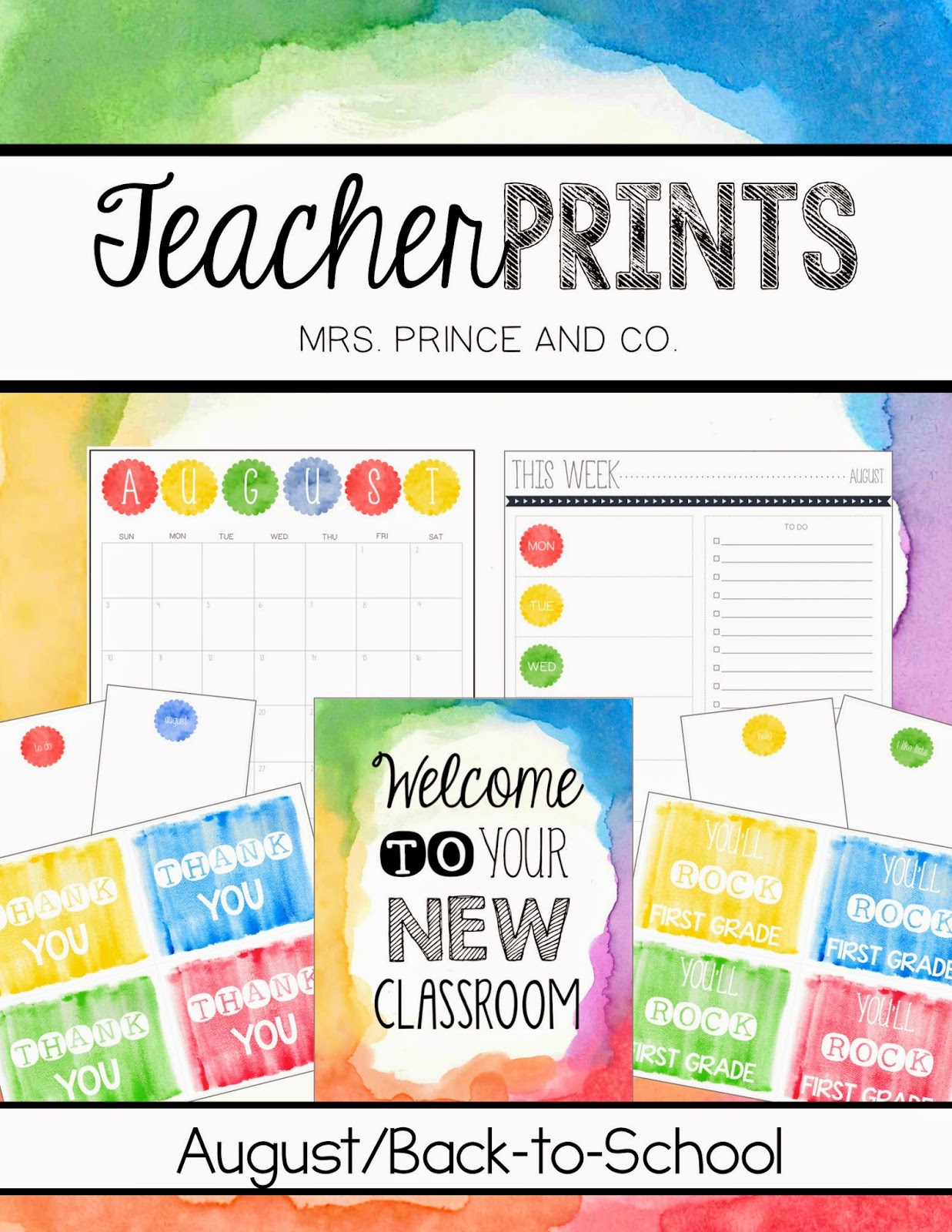 http://www.teacherspayteachers.com/Product/TeacherPRINTS-August-teacher-stationary-and-printables-1357538