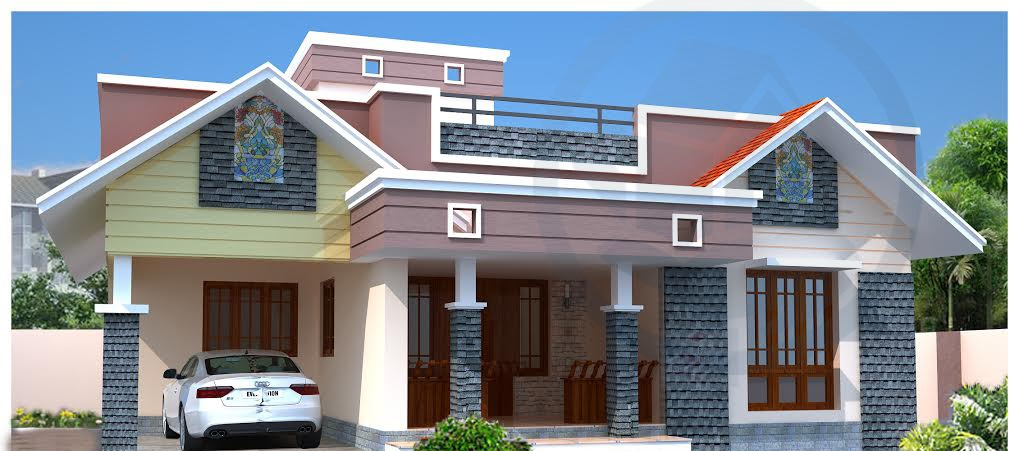 1300 Sq Ft, Single Floor Kerala Home Design