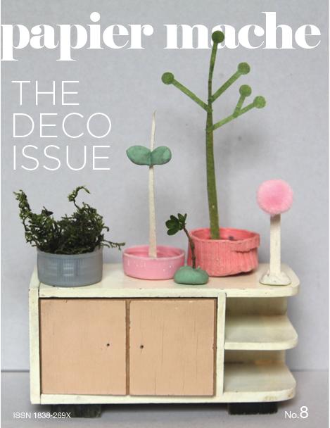 Beau pour les yeux papier mache the deco issue - Magazine de decoration interieure gratuit ...
