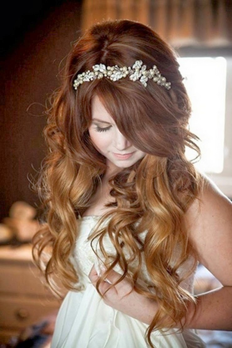 long wedding hairstyles Wedding  for Long Hair Bridal Wedding Dresses