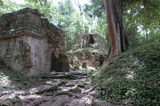 Paysages Mexique Chiapas Yaxchilan Temple blog photos voyage