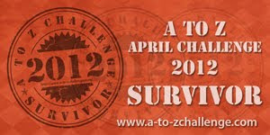 2012 A to Z Challenge Winner