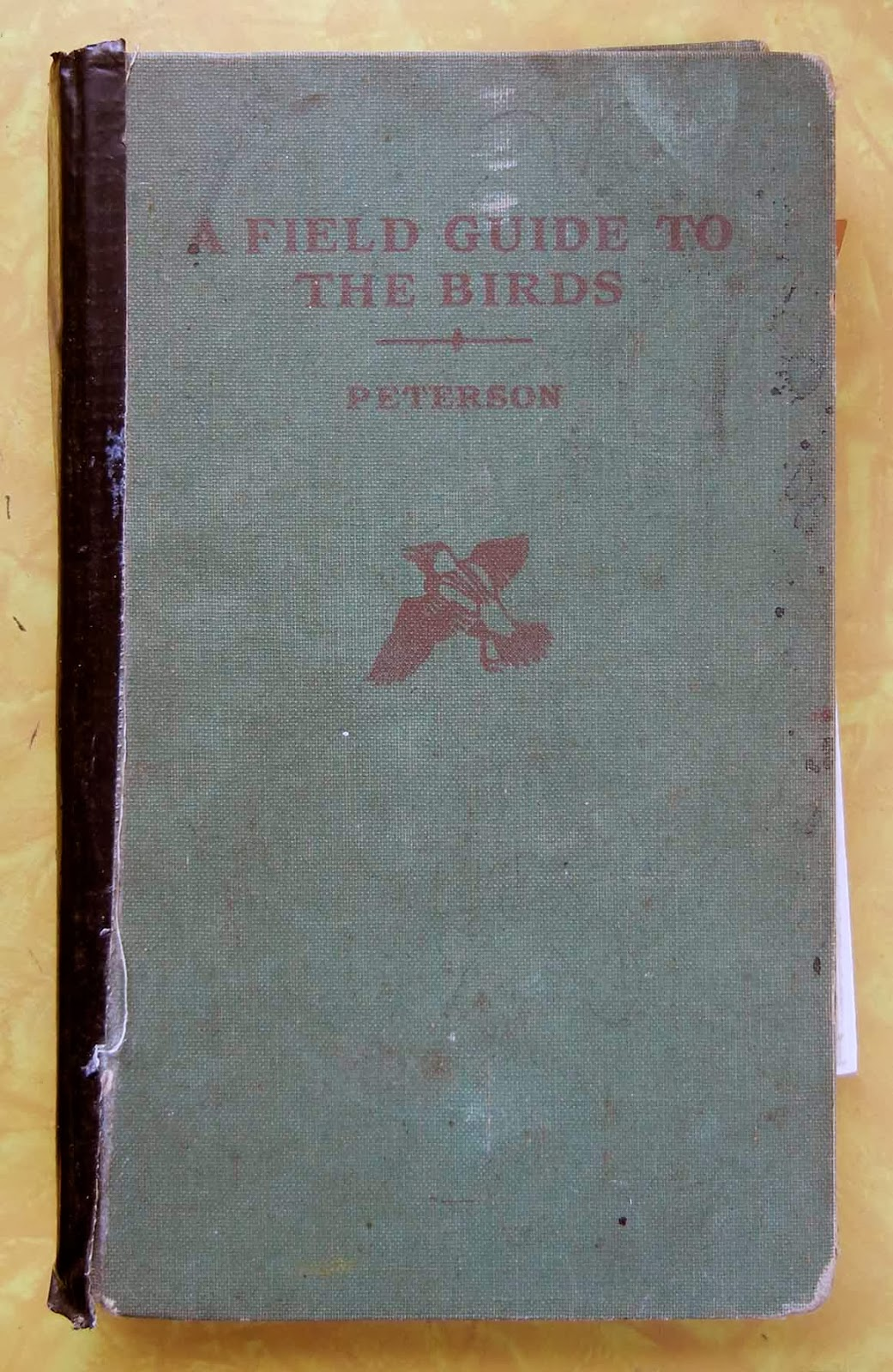 My 1965 Petersons Field Guide To Birds
