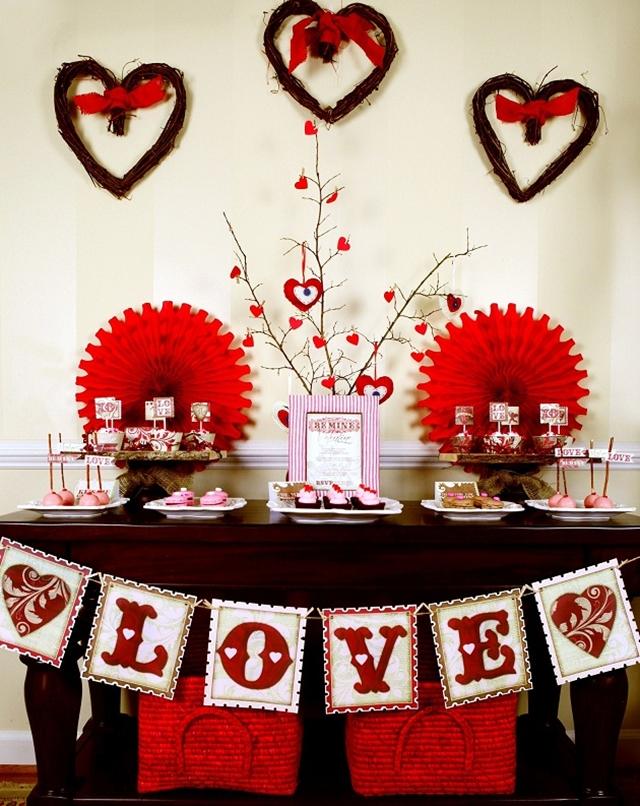 Diy decora o ideias para o dia dos namorados 2 for Table 52 valentine s day