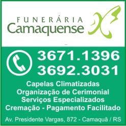 CAMAQUÃ - NOTA DE FALECIMENTO DE HILDA BARBOSA DA CUNHA, COM 87 ANOS