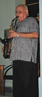Ricardo Mendez, el señor del saxo