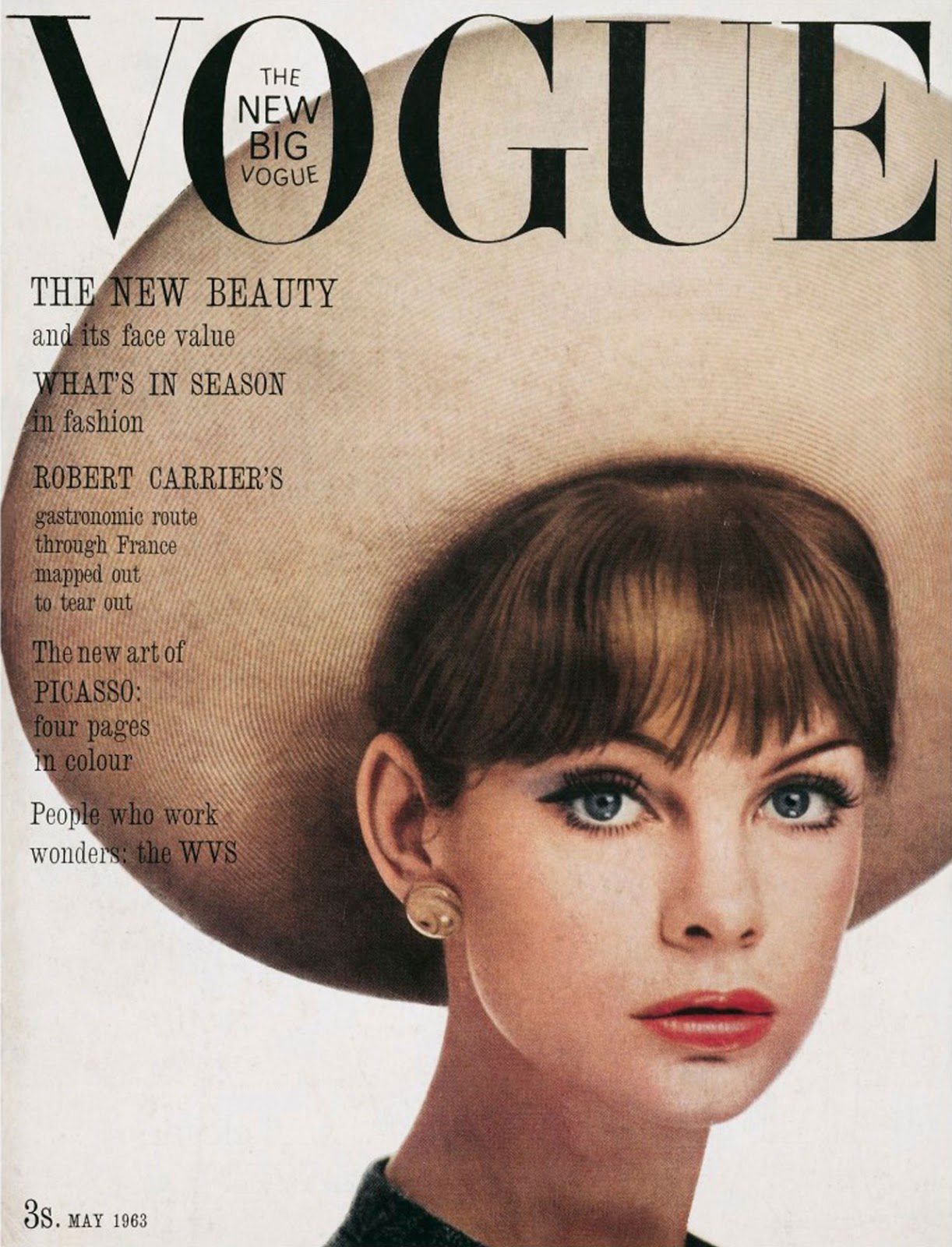 Jean Shrimpton  Vogue
