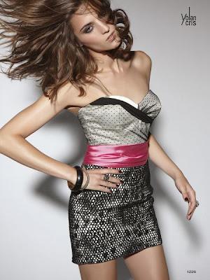 Yolan Cris - Collection  Rock in der Partei   2013 kurze kleider