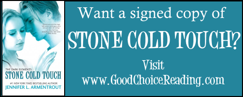 Want a signed copy of STONE COLD TOUCH?