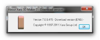 Xara 3D Maker v7.0.0.415, Diseñe Texto en 3D