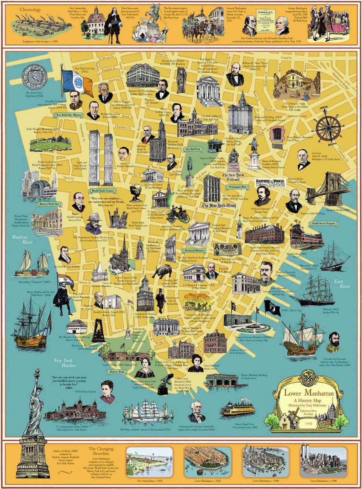 Soft image within manhattan printable map