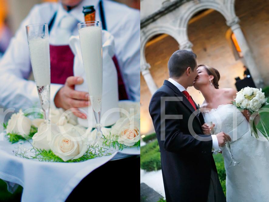 Matrimonio Simbolico En San Andres : Boda en san clodio de andrés y rocío