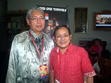 Tamar Jalis bersama Zabidin Hj Ismail