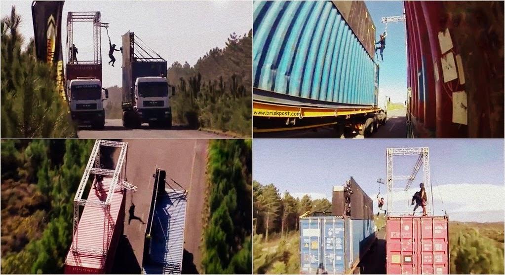 Fear Factor Dar Ka Blockbuster stunt Highway No 2 for Khatron Ke Khiladi contestants