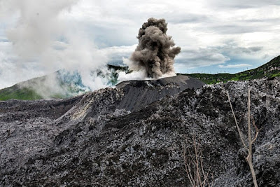 Ibu Volcano
