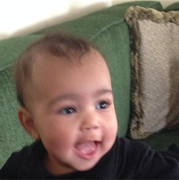 Busy kim kardashian posts adorable photos of baby north west photos