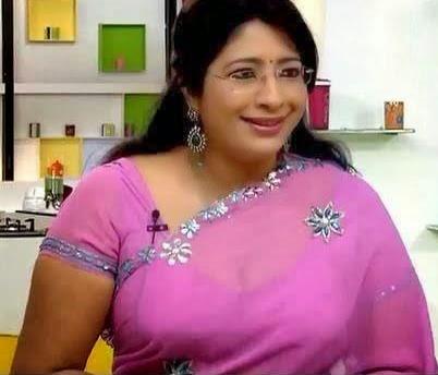 indian hot actress mallu cookery show anchor lakshmi nair