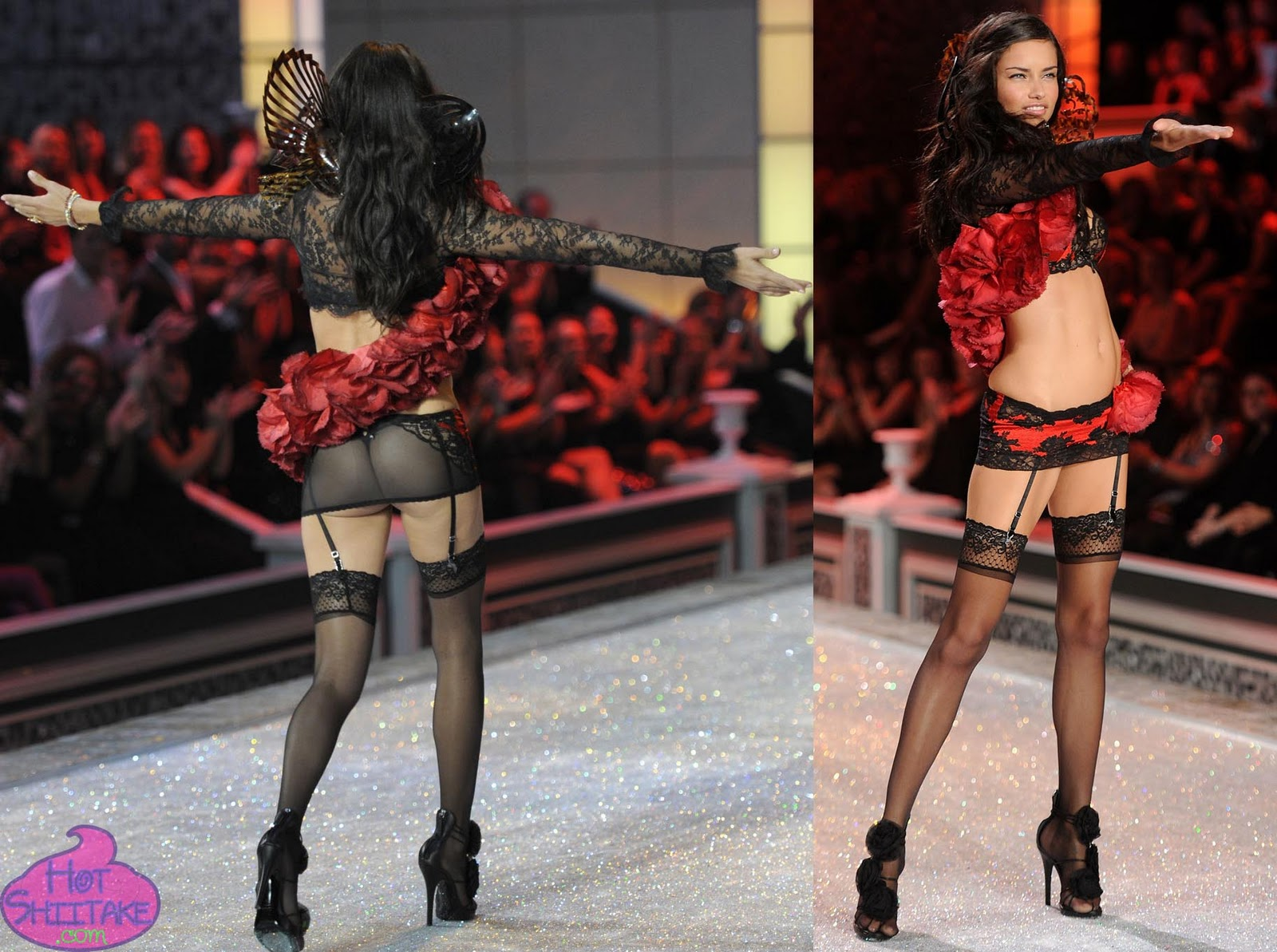 Adriana Lima at Victorias Secret Fashion Show 2011