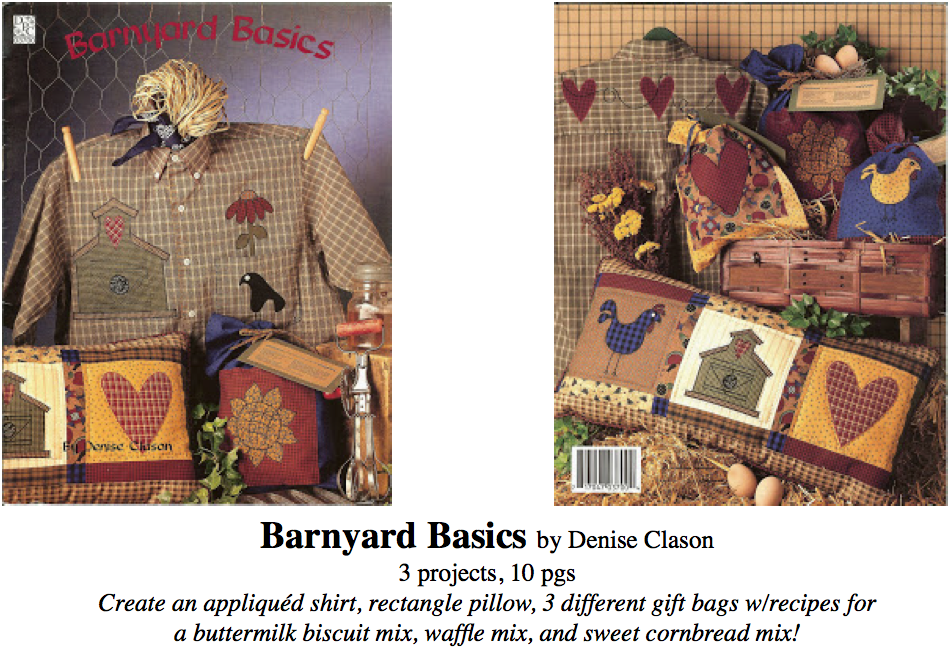 barnyard basics booklet, darrow productions