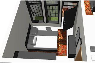 Gambar desain rumah kamar utama