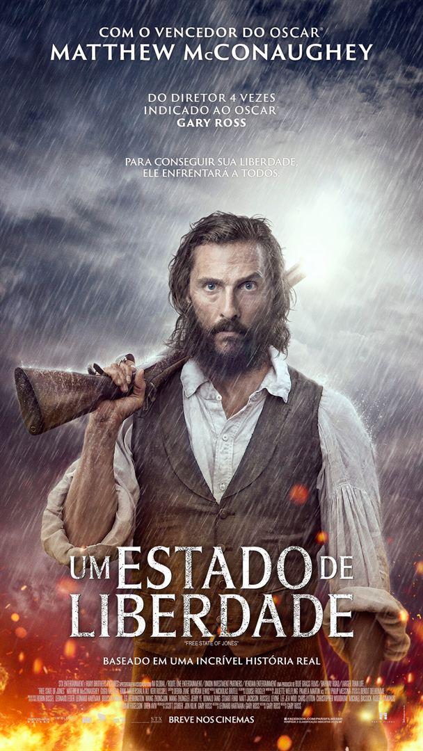 Filme Poster Um Estado de Liberdade