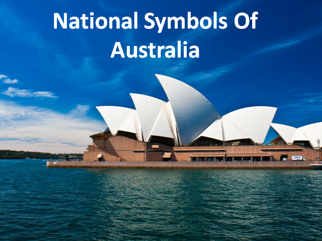 Holy Paradise High School National Symbols Of Australia