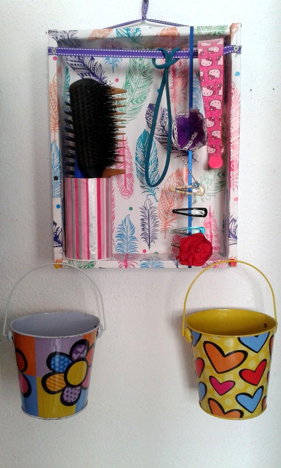 9 ideas para hacer un organizador de accesorios - Accesorios para casa ...