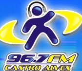 ouvir a Rádio Castro Alves FM 96,7 Castro Alves BA