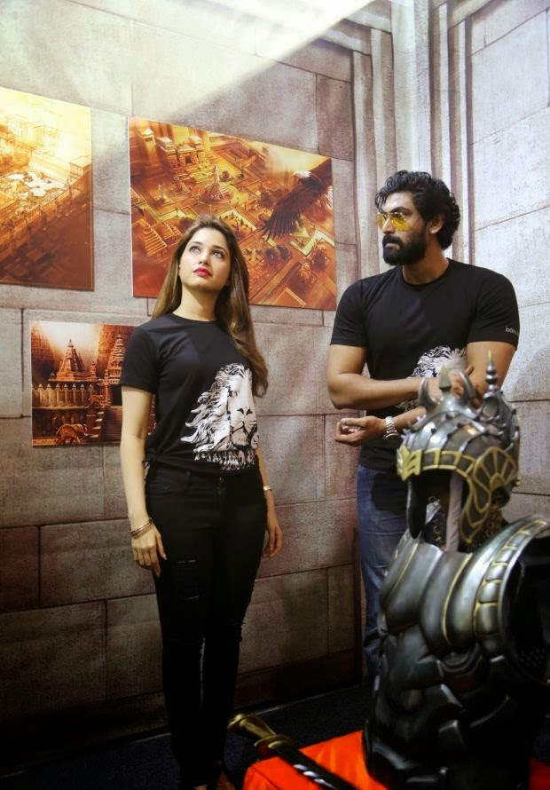 Tamannaah at Baahubali zone Bangalore Comic Con Stills