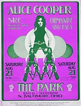The Park, North Baltimore, Ohio 21st August 1971