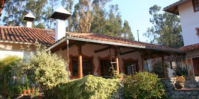 Hosterías en Cuenca Ecuador contactos Hostería Caballo Campana