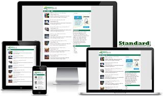 Template SEO Elite Standard Premium Gratis | Naughticle Blog