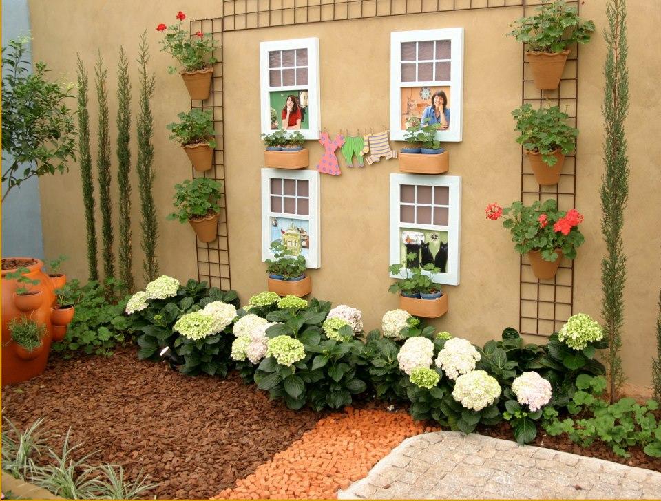 decoracao muros jardim: – Decoração: Inspirações para o jardim: um espaço para ficar