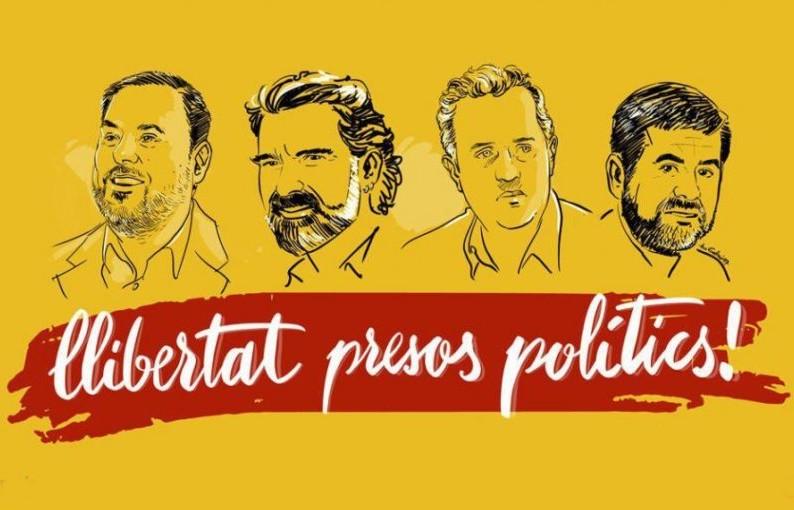 También ellos son presos políticos del estado fascista español