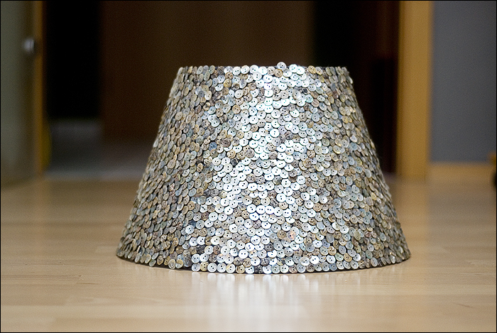 diy lampenschirm lamp shade be more creative. Black Bedroom Furniture Sets. Home Design Ideas
