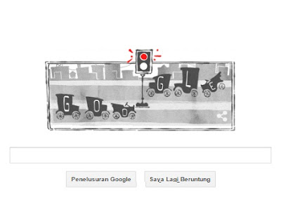 Google Doodle Hari Ini: Ulang Tahun 101 Sistem Lampu Lalu Lintas Listrik Pertama Ditemukan